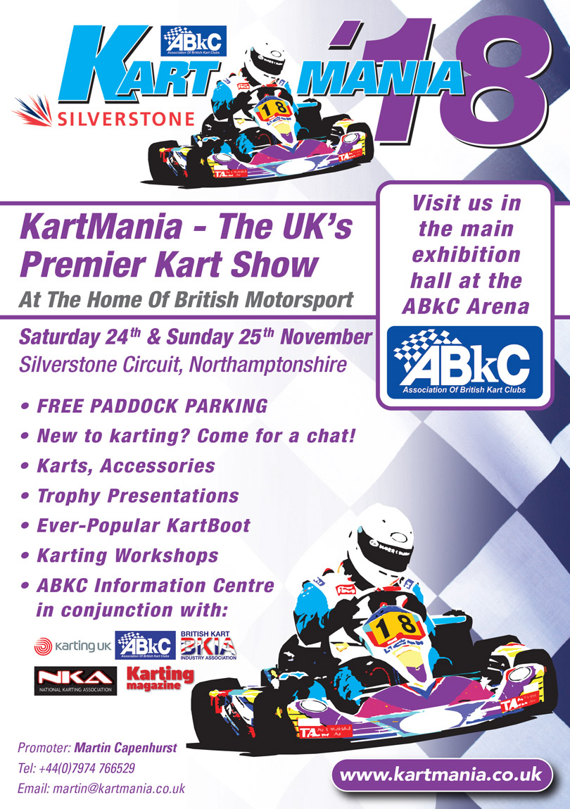 KartMania Silverstone Circuit November 24 and 25 2018